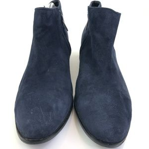 Sam Edelman Shoes - Sam Edelman Petty Blue Suede Ankle Boots Sz 11
